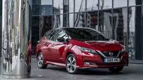 Imagen de un Nissan Leaf.