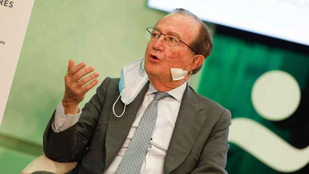 José María Fernández-Sousa Faro, presidente de PharmaMar, en su intervención en el I Simposio Observatorio de la Sanidad.