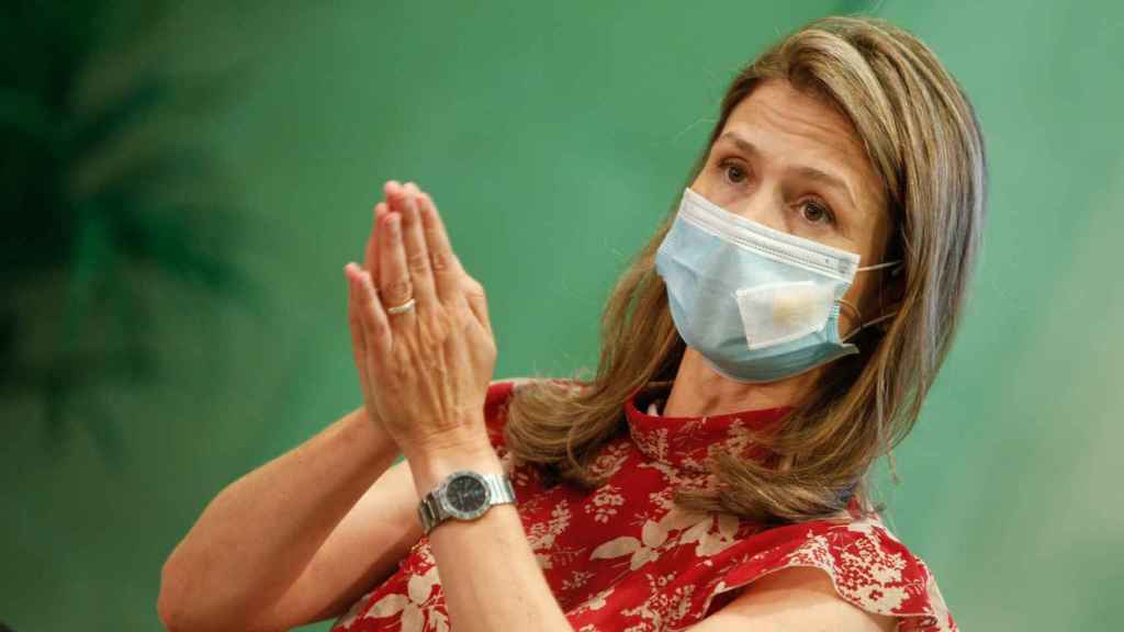 María Jesús Lamas, directora de la Agencia Española de Medicamentos y Productos Sanitarios (AEMPS)