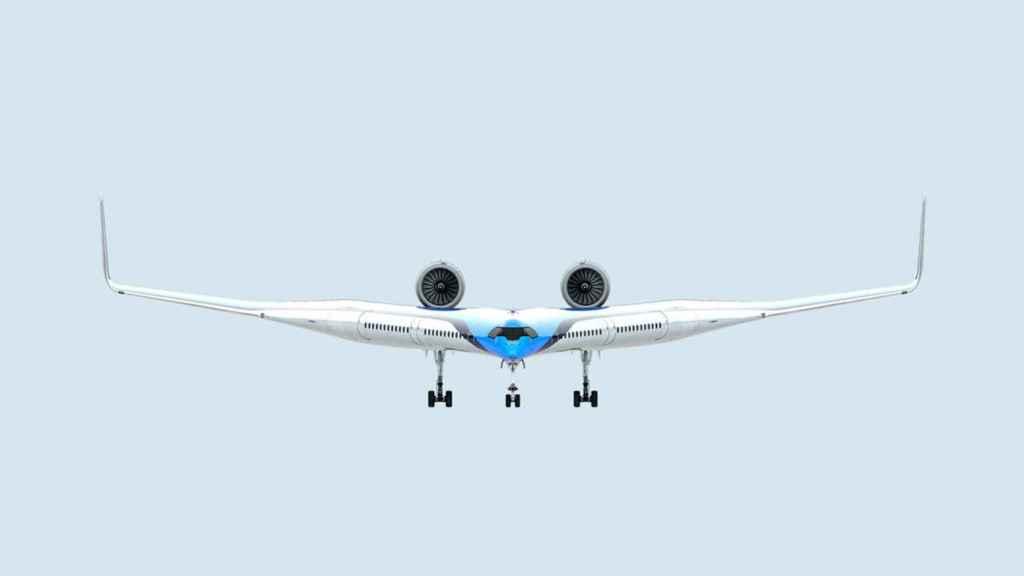 Así será el Flying-V, el avión que KLM quiere usar en el futuro