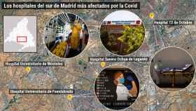 El coronavirus se ceba sobre el sur obrero de Madrid: la ruta por cuatro hospitales alarmados