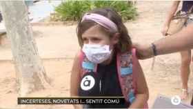 Captura de la intervención de la niña que se ha hecho viral.