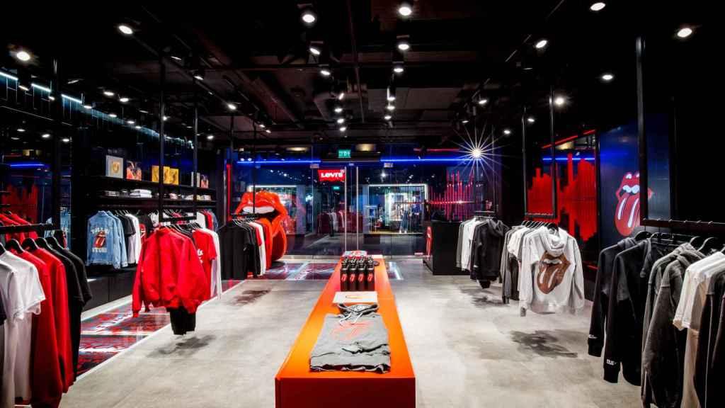 Los Rolling Stone abren su primera tienda y marca de ropa.