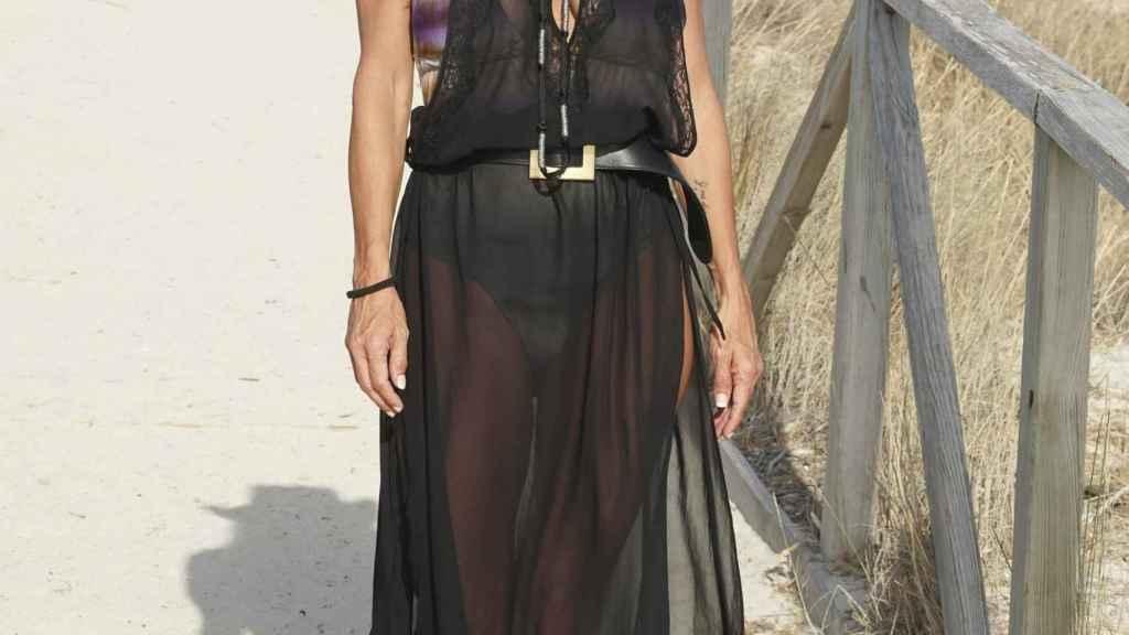 Makoke ha pasado unas espléndidas vacaciones de verano entre Marbella, Ibiza y Tarifa.