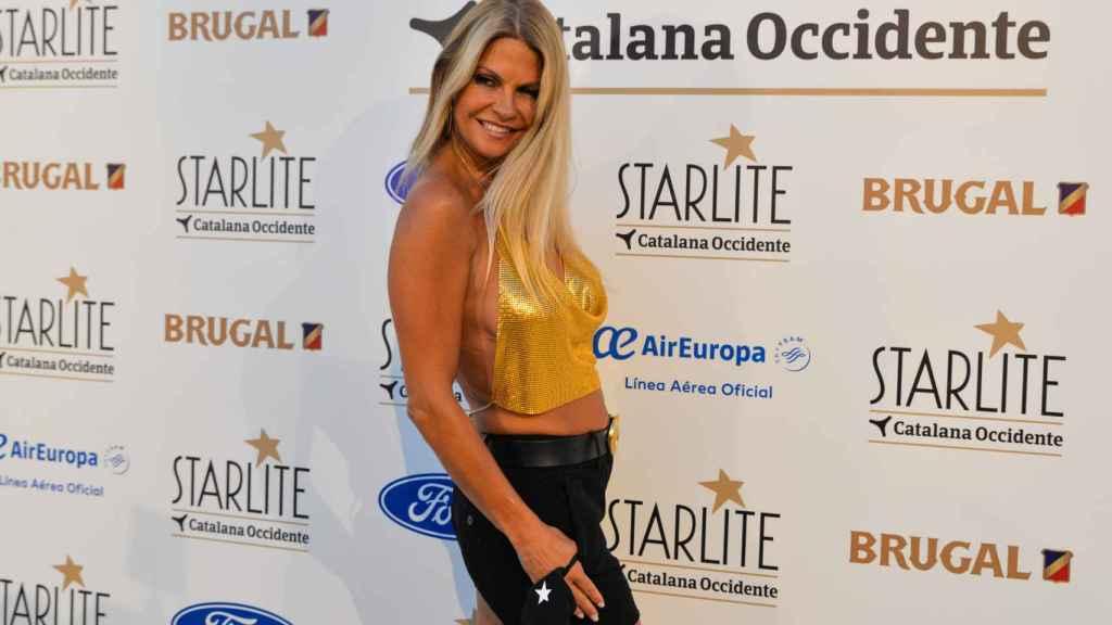 La malagueña durante su asistencia este verano al festival Starlite de Marbella.