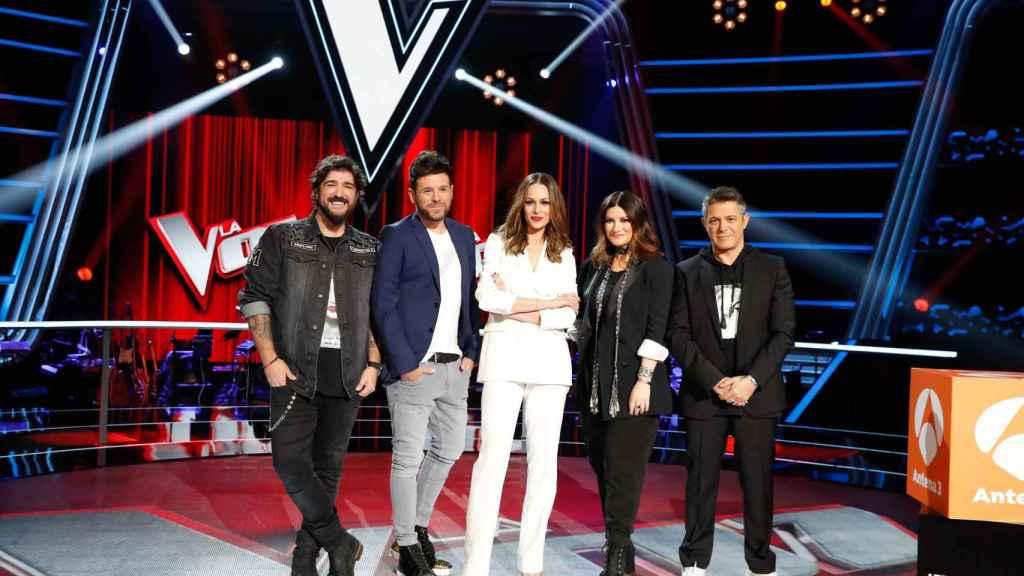 'La Voz' estrena su segunda temporada este viernes en Antena 3