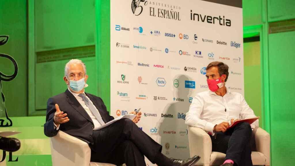 Javier Murillo, director general de SegurCaixa Adeslas, y Pedro Díaz Yuste, CEO de Savia.