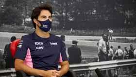 Sergio 'Checo' Pérez durante un gran premio de Fórmula 1 de esta temporada