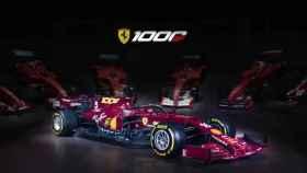 Coche de Ferrari con un diseño especial para el GP de Italia