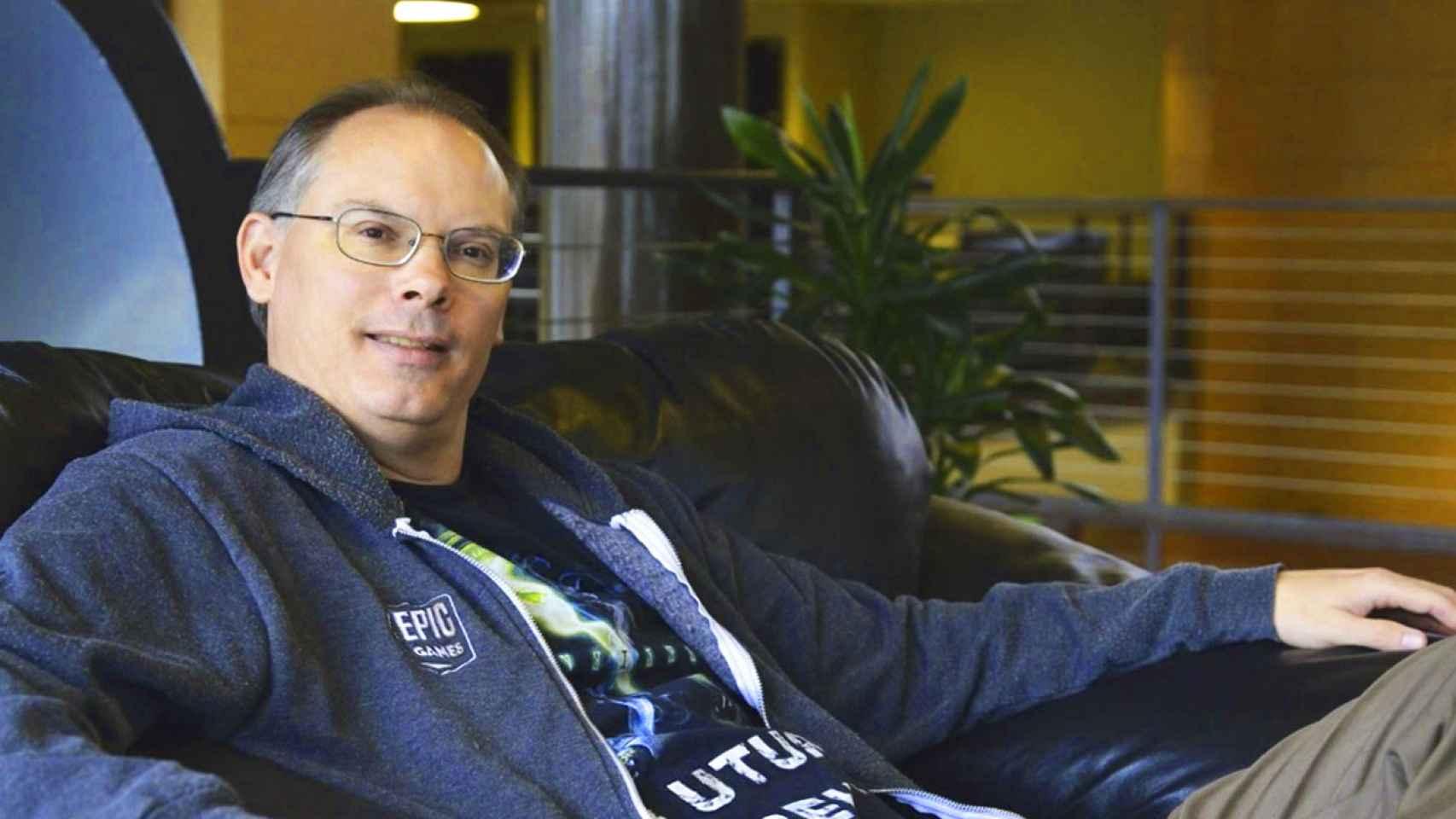 Timothy Dean Sweeney, fundador y CEO de Epic Games.