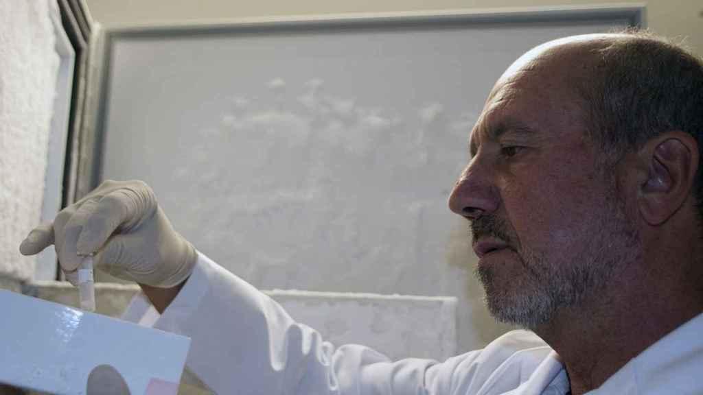 Uno de los investigadores del CSIC.