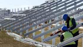 Iberdrola construye tres parques solares que suman 150 MW en Castilla-La Mancha