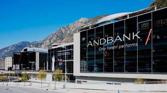 La sede de Andbank en Andorra.