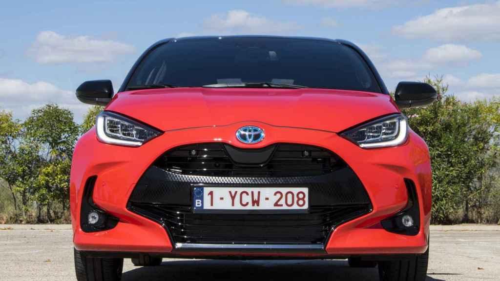 Frontal del nuevo Toyota Yaris.