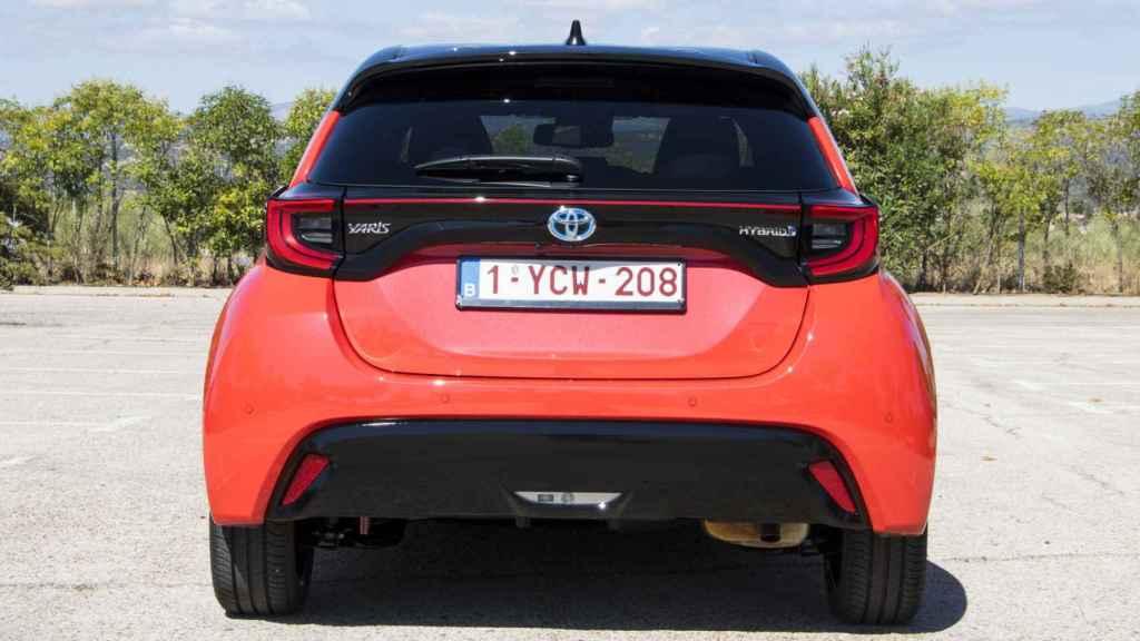 Zaga del nuevo Toyota Yaris.