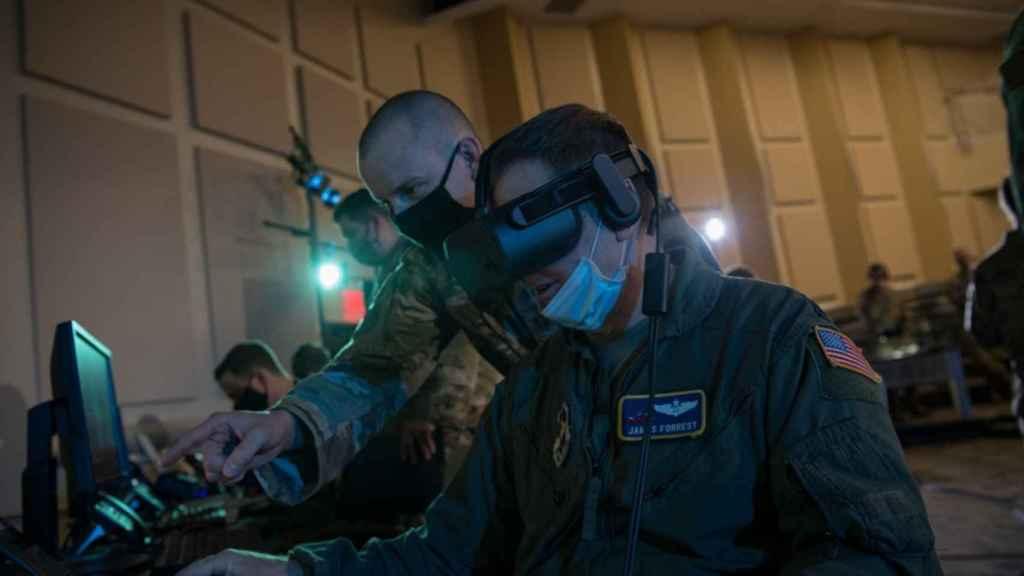 Soldados de los EEUU usan realidad virtual en unos ejercicios militares