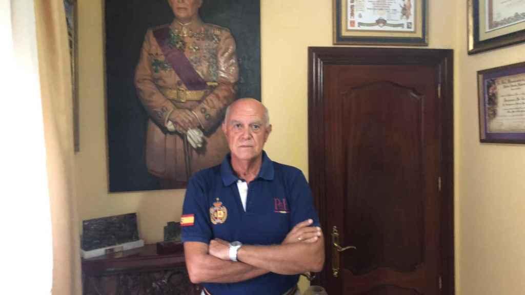 Enrique, candidato a presidir Vox Málaga.