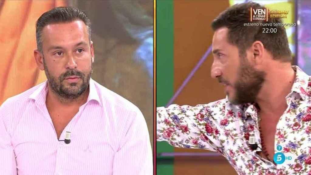 El enfrentamiento entre Kike Calleja y Antonio David Flores.