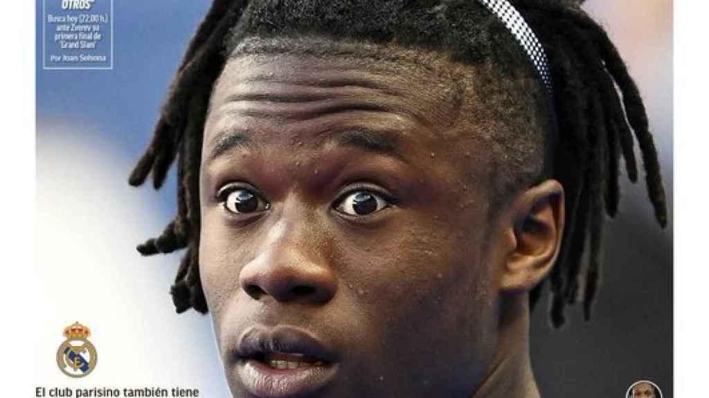La portada del diario MARCA 11-09-2020