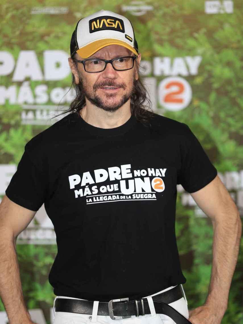 Santiago Segura, en el estreno de 'Padreo no hay más que uno 2'.