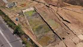 La piscina descubierta en la zona de Malafede.