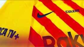 El Barça celebrará la Diada luciendo la 'senyera' en su partido amistoso contra el Nastic