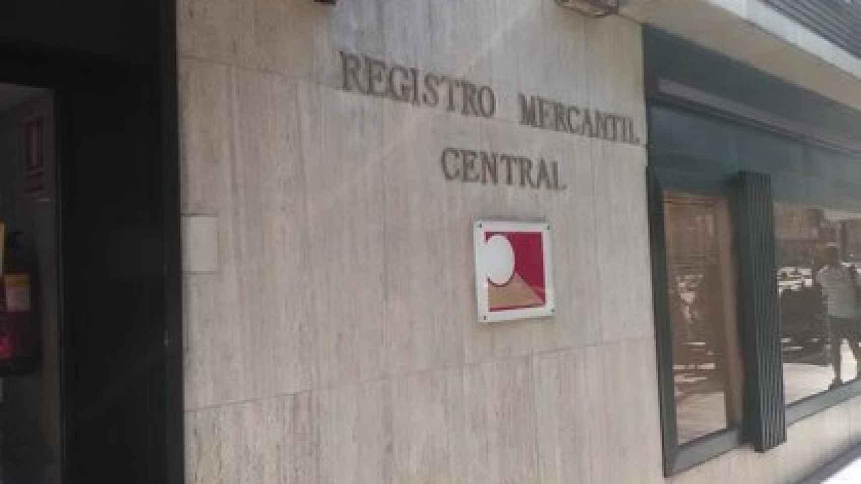 El Registro Mercantil.