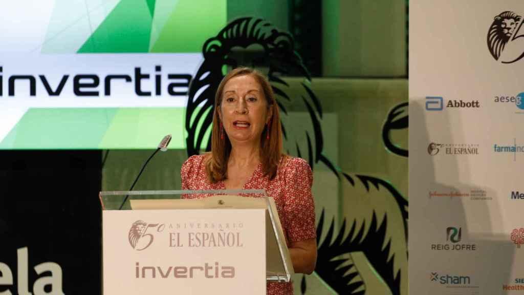 Ana Pastor, vicepresidenta segunda del Congreso y diputada del Partido Popular, durante su intervención individual