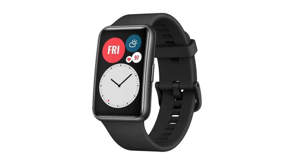 Así es el Huawei Watch Fit.