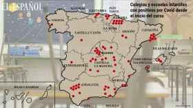 El mapa de los 70 colegios ya afectados por la Covid: la falta de profesores lleva al cierre del centro