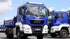 Camiones de Man.