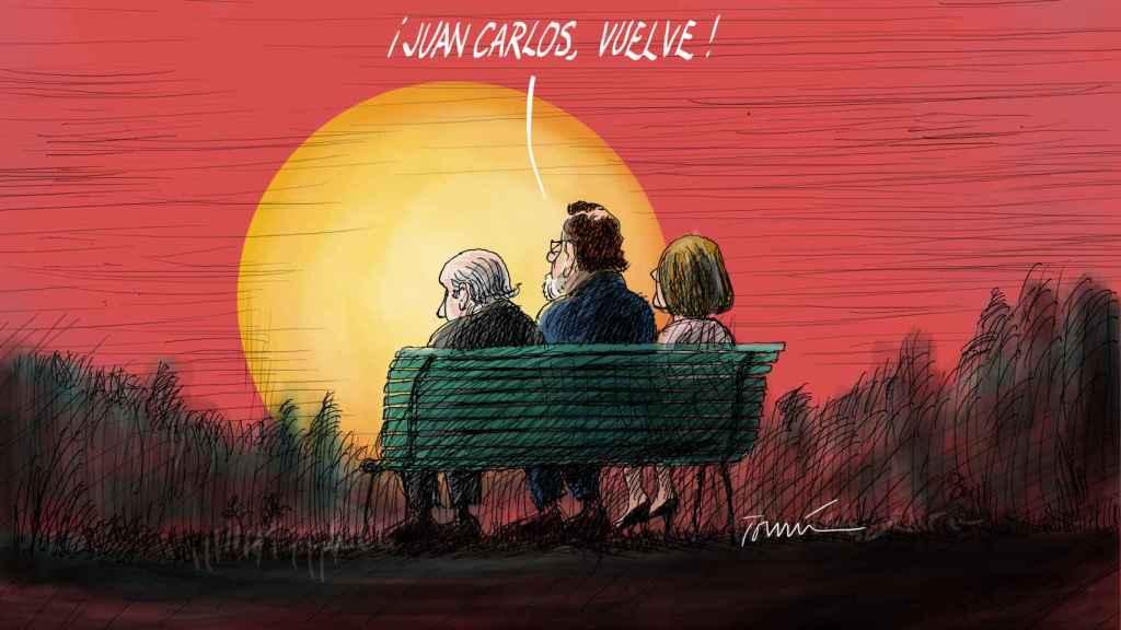 ¡Juan Carlos, vuelve!