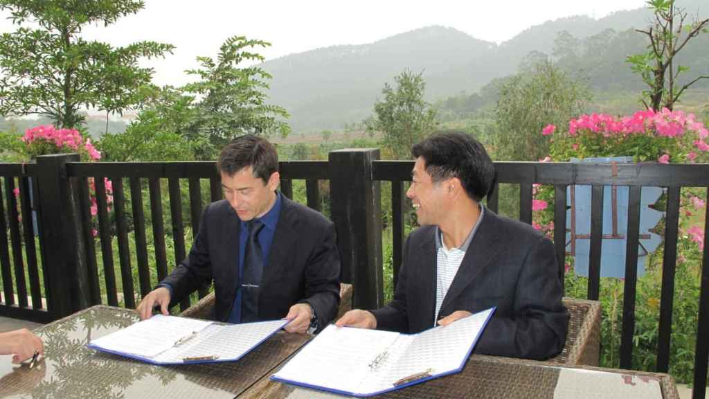 Toni Miranda ha vivido y tenido relaciones comerciales con China.