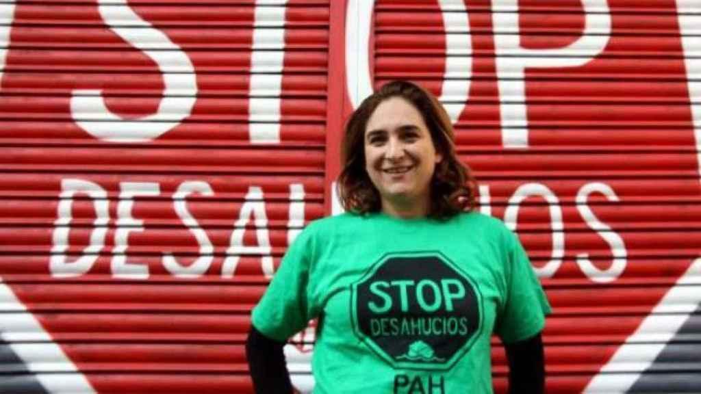 Ada Colau formó parte de Stop Desahucios.