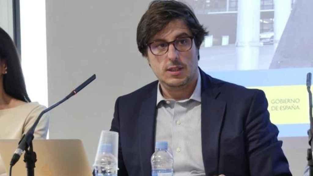 Jorge Martín Frías, durante una charla.