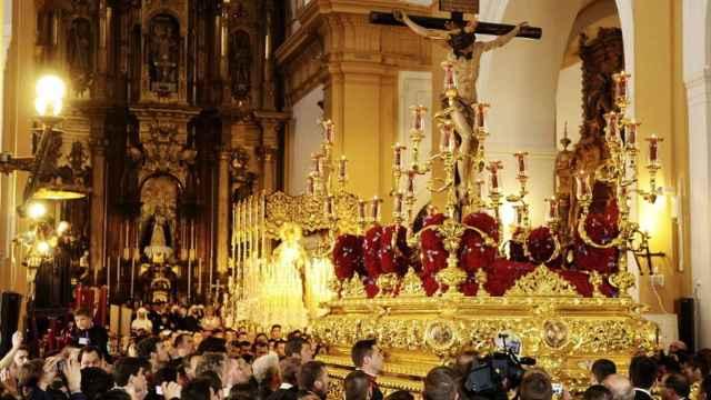 Un paso de Semana Santa de Sevilla