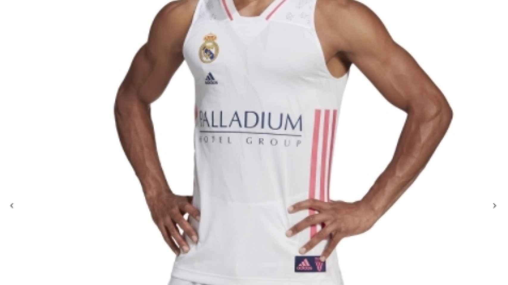 Así Es La Nueva Camiseta Del Real Madrid De Baloncesto Para La Temporada 2020 2021