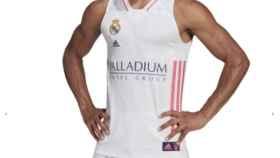 La nueva camiseta del Real Madrid de baloncesto