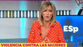 Susanna Griso en el programa 'Espejo público'.