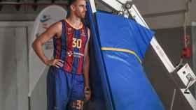 Víctor Claver, jugador del FC Barcelona Basket