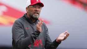 Klopp, durante un partido del Liverpool