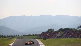 Carlos Sainz Jr, en el circuito de Mugello durante el Gran Premio de la Toscana