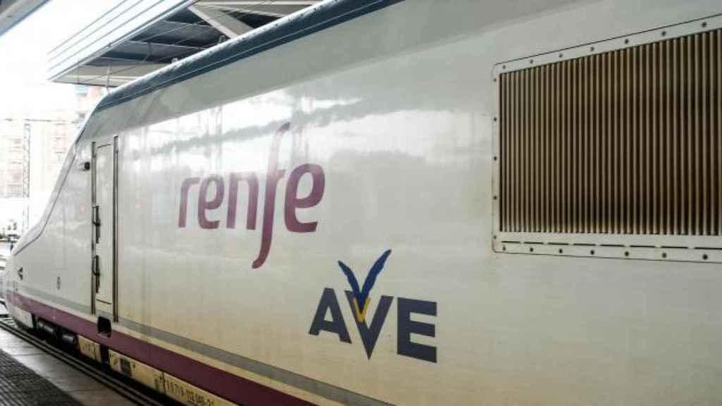 Un tren de AVE.