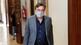 Tomás Guitarte, portavoz de Teruel Existe en el Congreso, el pasado 2 de septiembre en el Congreso.