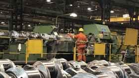 Una instalación industrial.
