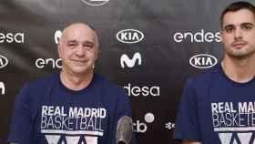 Pablo Laso y Carlos Alocén