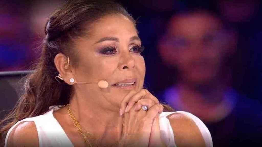Isabel Pantoja ejerciendo de jurado en 'Idol Kids'.