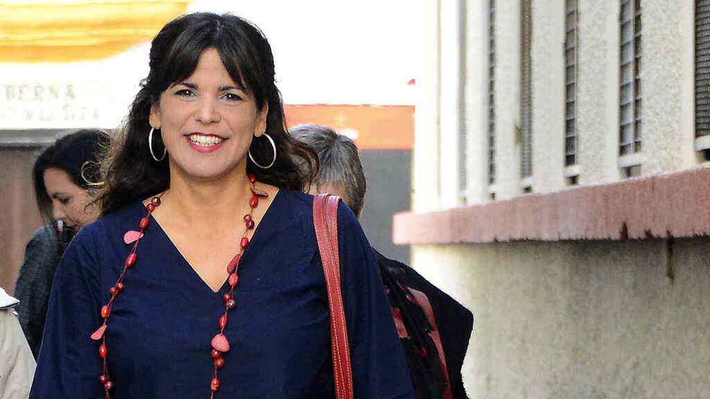 Teresa Rodríguez da a luz a su segunda hija, Candela