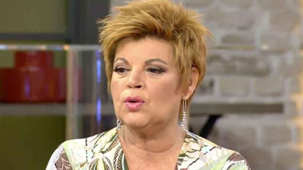 Terelu Campos en la tarde de este sábado en 'Viva la vida'.