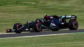 Bottas en el GP de la Toscana en el circuito de Mugello